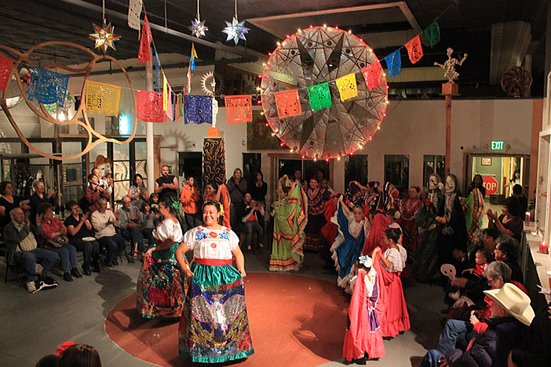 Day of the Dead Dancers at Snowdrift
