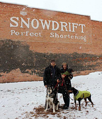 Snowdrift Sign